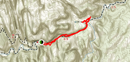 Capitol Gorge to Tanks Trail Map