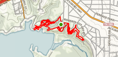 Thunder Road to Lone Wolf Loop Map