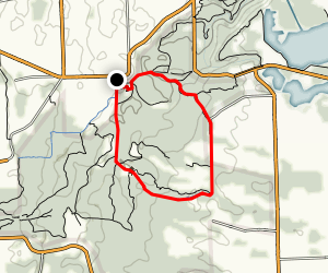 Black Walnut Trail Loop Map