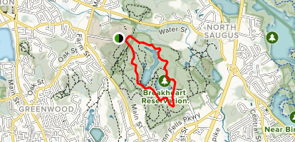 Breakheart Reservation Outer Trail Map