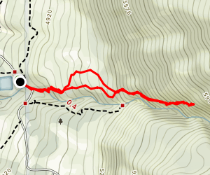 Davis Creek Short Loop Map