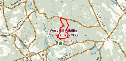West Hill Park Loop Map