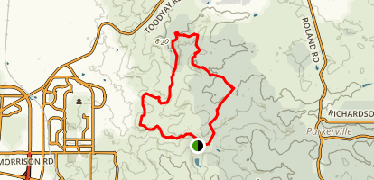 Eagle View Trail Map