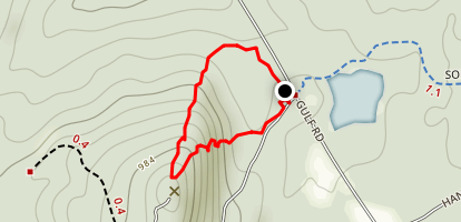 Goat Trail Loop Map