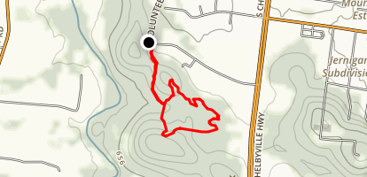 Rocky Path Loop Map