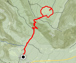 Elk Meadows South Trail Map