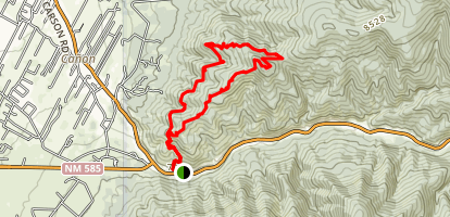 Devisadero Loop Trail Map