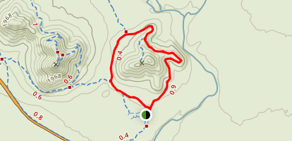 Sidewinder Trail to Ocotillo Trail Loop Map
