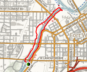 Trinity Trail Loop Map