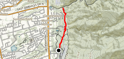 200 To Adams Creek Map