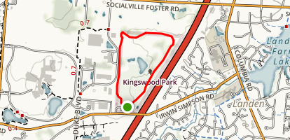 Kingswood Park Loop [CLOSED] Map
