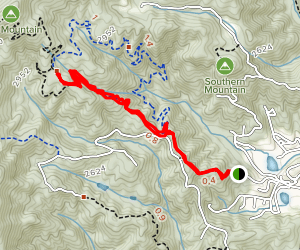 Bracken Mountain Trail Map