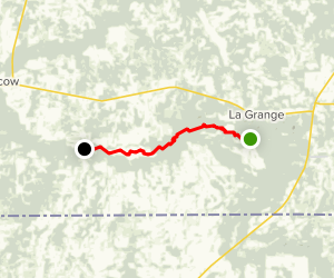 Ghost River Paddling Map