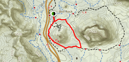 Bell Rock Loop Trail Map