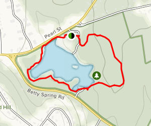Dunn Pond State Park Loop Map