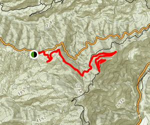 Sunset Peak Alternate Approach Map