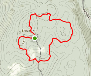 Breezy Hill Loop Map