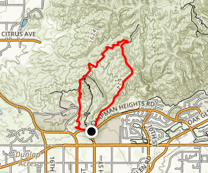 Fire Bell Trail Map