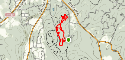 Mount Pisgah Loop Trail Map