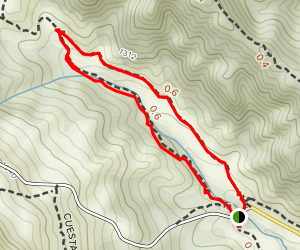 Bollinger Creek Loop Map