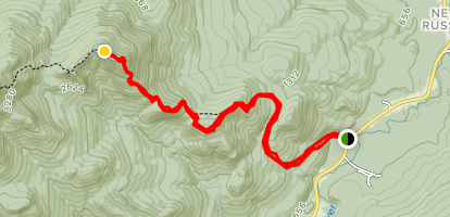 Bald Peak Map