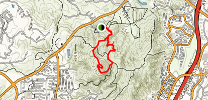 Miners Ridge Loop [CLOSED] Map