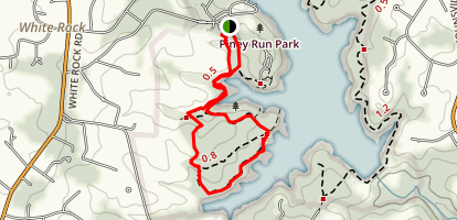 Piney Run Trail Map