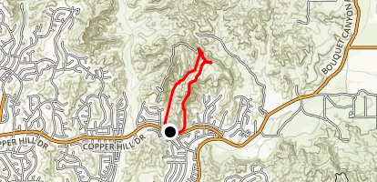 Haskel Canyon Open Space Map
