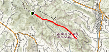 Mullholland Ridge Map