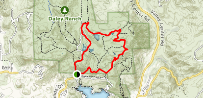 Sage Trail and East Ridge Trail Loop Map