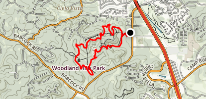 Main Loop to Restoration Way Trail Map