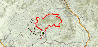 Desert View Loop Trail Map