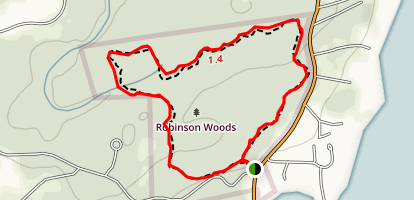 Robinson Woods Map