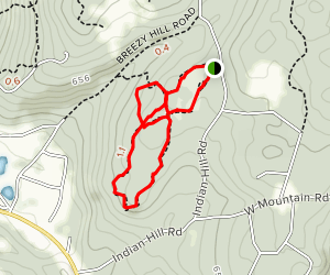 Mary Conklin Sanctuary Loop Map