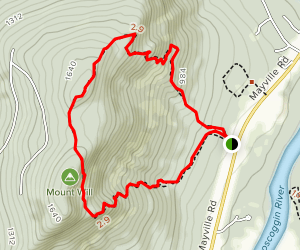 Mount Will Trail Map