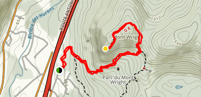 Mont Wright Trail Map