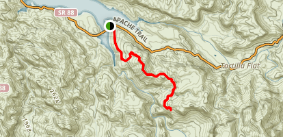 Boulder Canyon Map