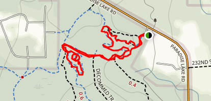 Whispering Firs, Cascara, Mainline and Lloyd Trail Detour Loop Map