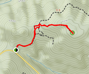 Akawie Peak Map