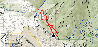 Bonneville Shoreline Double Loop Map