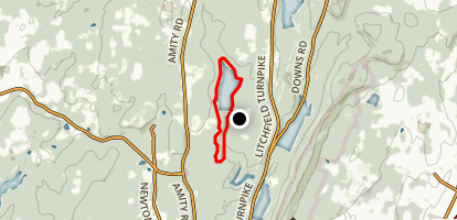 Lake Chamberlain Loop Map