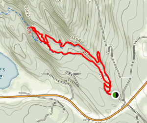 Red Lion Trail Map