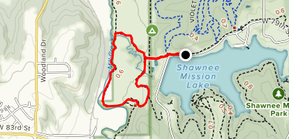 Gary L. Haller Trail and Mill Creek Trail Map