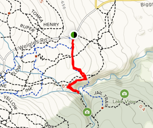 Benson Creek Falls Map