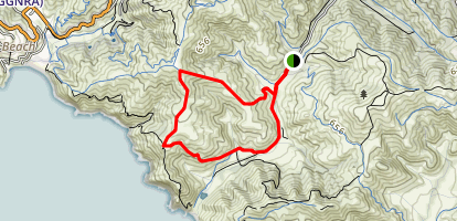 Fox Trail, Coastal Trail, and Tennessee Valley Trail Loop Map