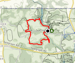 Fair Hill Green Loop  Map
