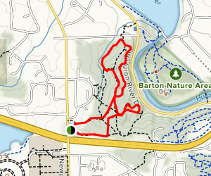 Bird Hills Nature Area Loop Map