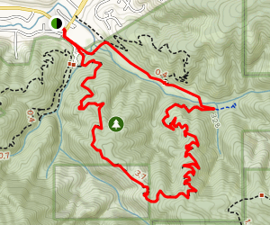 Weiler Ranch/Hazelnut Trail Map