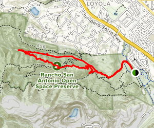 Rogue Valley, Upper Rogue Valley, and High Meadow Loop Trail Map