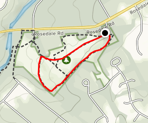 Greenway Meadows Loop Map